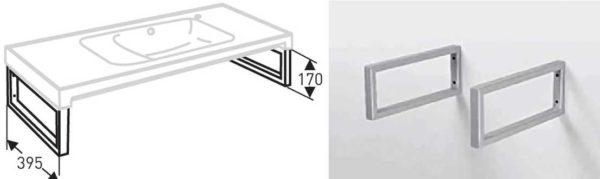 Установка на металлические рамки