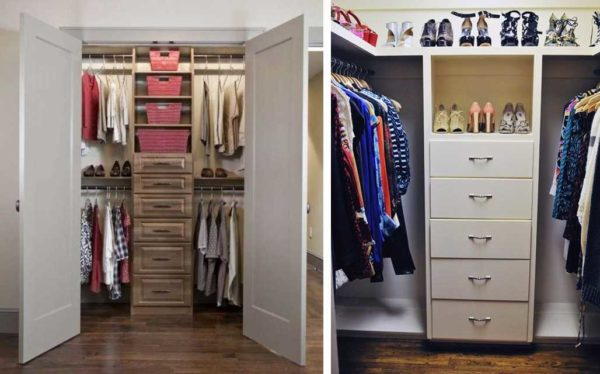 Даже небольшое пространство может вместить значительное количество вещей