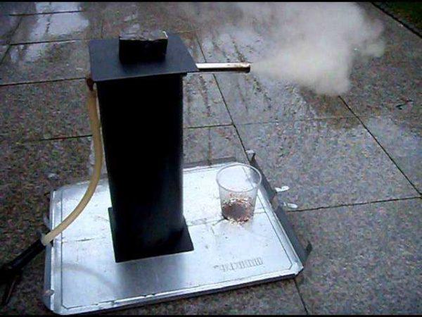 Дымогенератор холодного копчения - один из вариантов