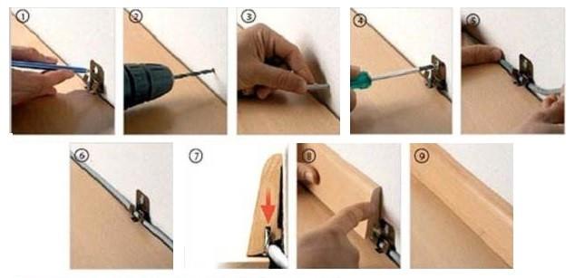Монтаж плинтуса пластикового своими руками пошаговая инструкция 957