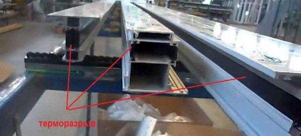 Профили для уличной пластиковой двери с терморазрывом