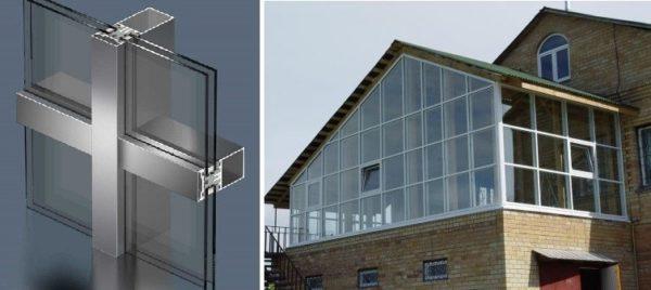 Светопрозрачные панели - для оформления зимних садов, крытых веранд, беседок