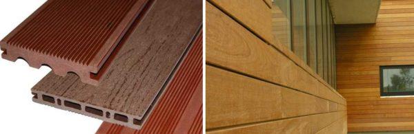 Древесно-полимерный композит (ДПК) очень напоминает древесину