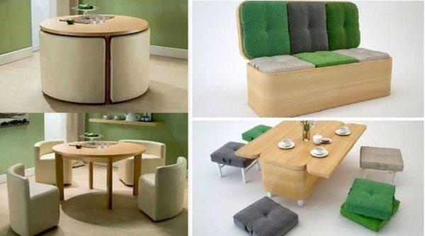 Столы тоже могут быть раскладными