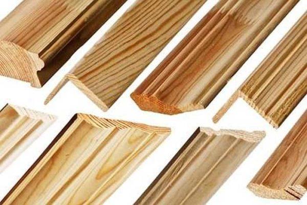 Погонаж можно использовать для изготовления наличников простого вида