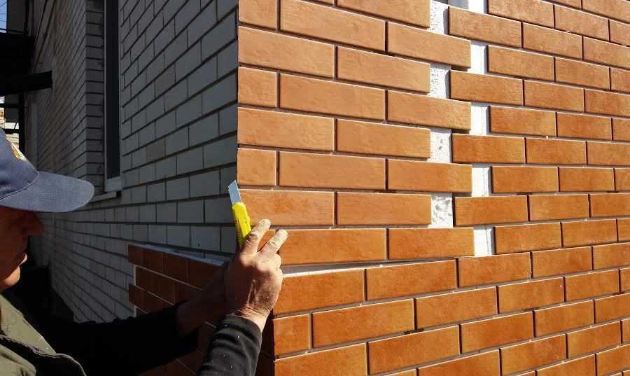 Облицовка фасадными панелями своими руками 24