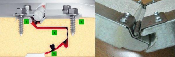 Для сохранения тепла в гараже важно чтобы секции соединялись герметично