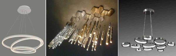 Светодиодные люстры для дома - это красиво