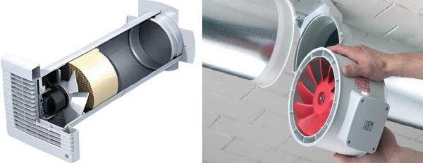 Принудительная вентиляция в частном доме - устанавливаются вентиляторы подходящего типа