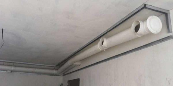 Пластиковые воздуховоды бывают круглыми или прямоугольными