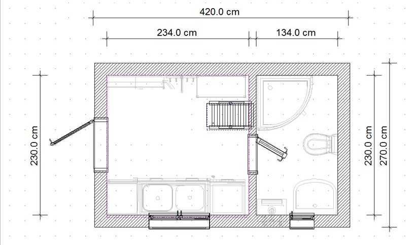 Летняя кухня своими руками чертежи и размеры 7