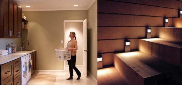 Датчик движения для включения света нужен не только на улице
