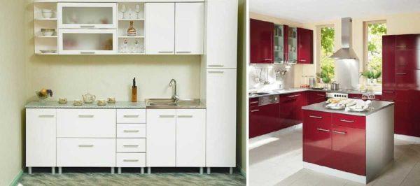 Шкаф-пенал и тумбы для островной кухни - новые виды в модульных кухнях