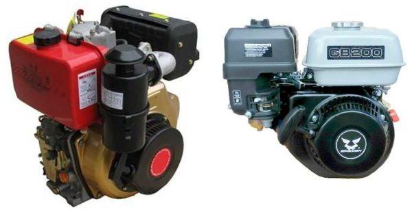 Выбрать мотоблок и мотокультиватор надо по типу двигателя