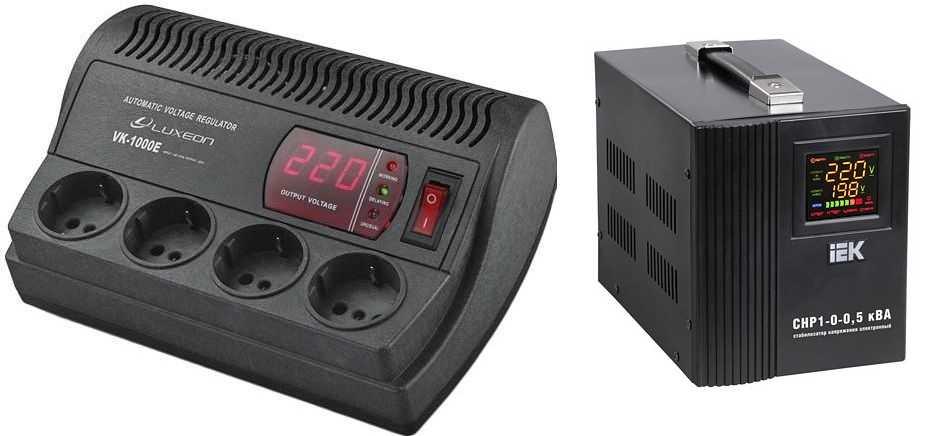 Стабилизатор напряжения 220 В для дома, дачи, газового котла