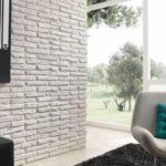 Одна из самых совершенных имитаций каменной кладки - в панелях из гипса