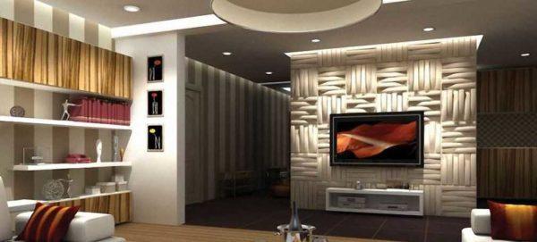 Отделка стен декоративными панелями становится все более популярной