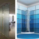 Не так много интерьеров используют стеклянные стеновые панели для помещений