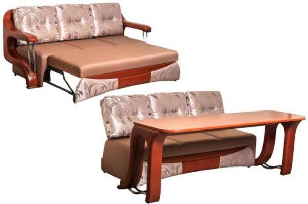 Раскладной диван-стол