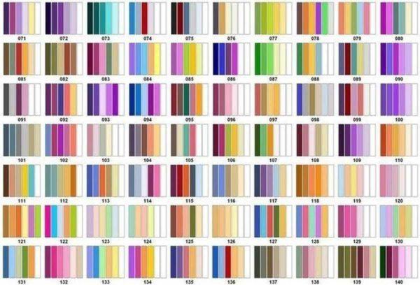 Таблица сочетания цветов в интерьере - несколько вариантов