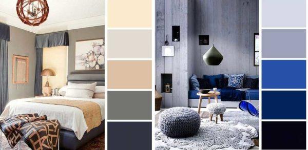 Сочетание серого с другими цветами для создания гармоничного интерьера