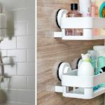"""Если пластиковые аксессуары для ванной - только временный вариант, ищите модели на присосках или """"навесные"""", под которые не нужен стационарный крепеж"""