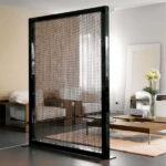 Интересный вариант с узорным стеклом
