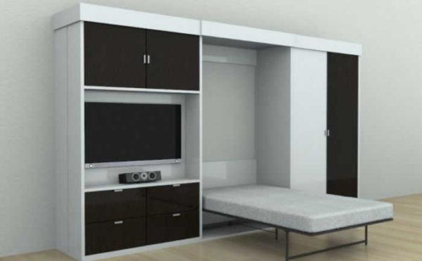 Шкаф, который превращается в кровать