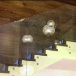 Боковое крепление стеклянных перил - на специальные фиксаторы
