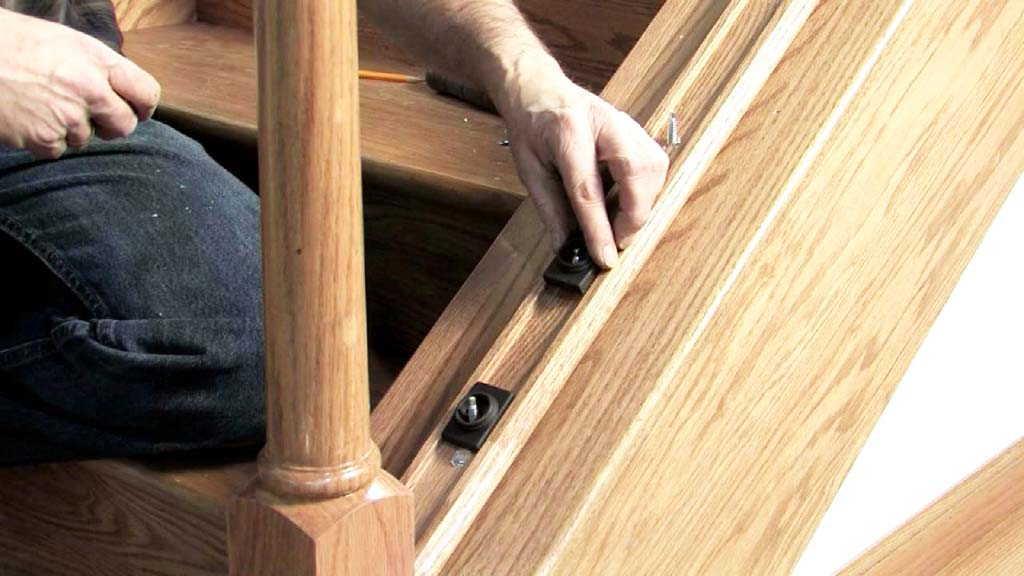 Установка балясин на деревянную лестницу своими руками