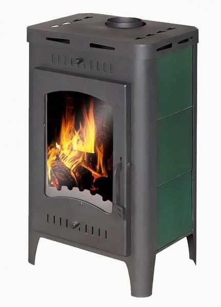 """Одна из самых простых моделей: печь камин длительного горения для дачи и дома """"Бавария"""""""