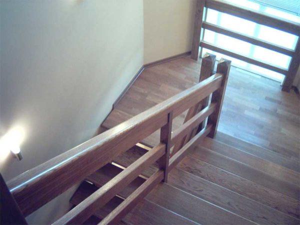 Перила для лестниц своими руками фото
