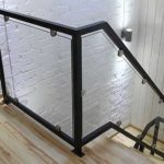 Сварить рамки, в них вставить прозрачное стекло - просто и эффектно