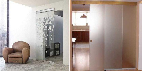 Раздвижные стеклянные двери - сильное решение