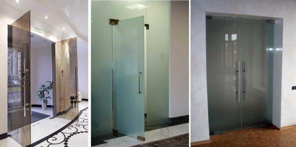 Маятниковые двери ставят в местах с большой проходимостью