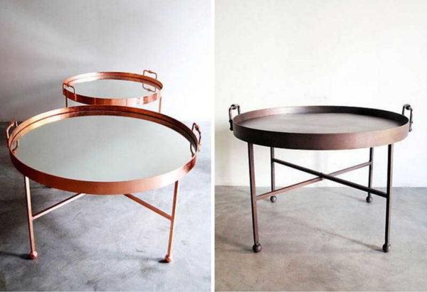 Круглый столик для завтрака в постель