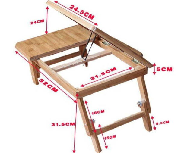 Размеры столика-подставки для самостоятельного изготовления