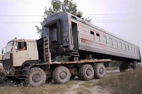 Вот вам пример дома на колесах с высокой проходимостью))