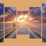 Закатное солнце на море - что может быть романтичнее