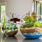 В качестве грунта можно использовать гальку разного размера, ракушки, песок и сам грунт