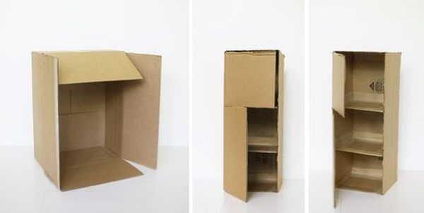 Как сделать мебель из картона 313