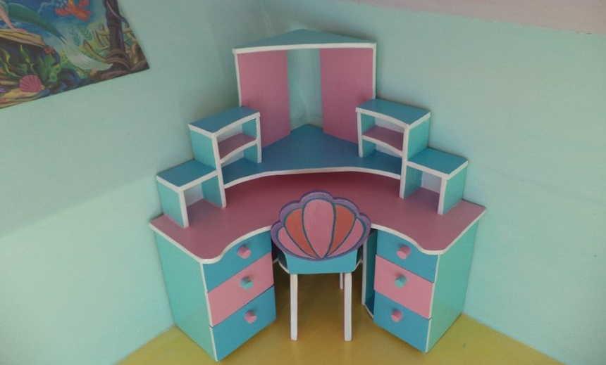 Как сделать мебель для барби своими руками фото фото 214