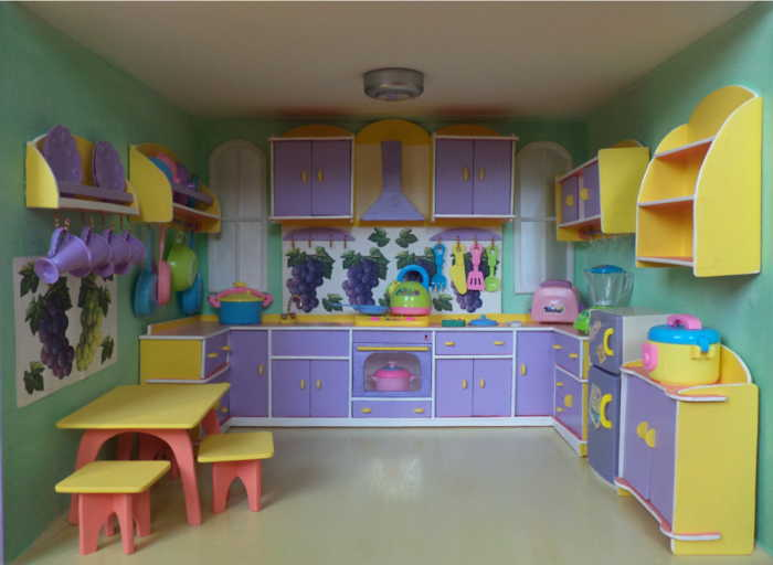 Игрушечная мебель для кукол своими руками фото 412