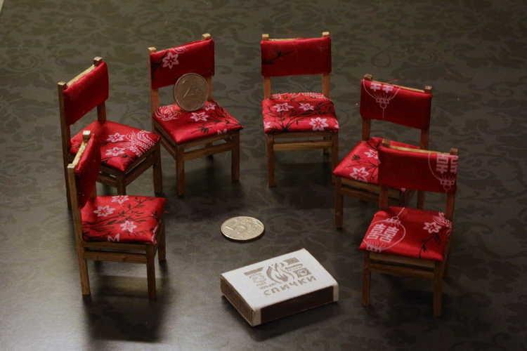 Мебель для миниатюр своими руками