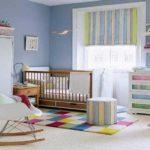 В комнате для малышей плотная штора нужна всегда