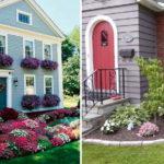 Цветы или растения примерно одинаковой высоты - если надо чтобы смотрелось все со все сторон прилично