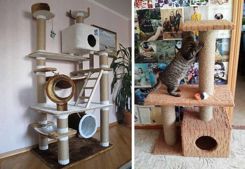 Фото домика для кошки своими руками фото 35
