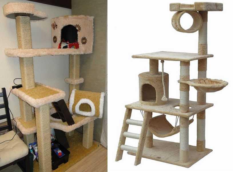 Домик для кошек своими руками ютуб 29