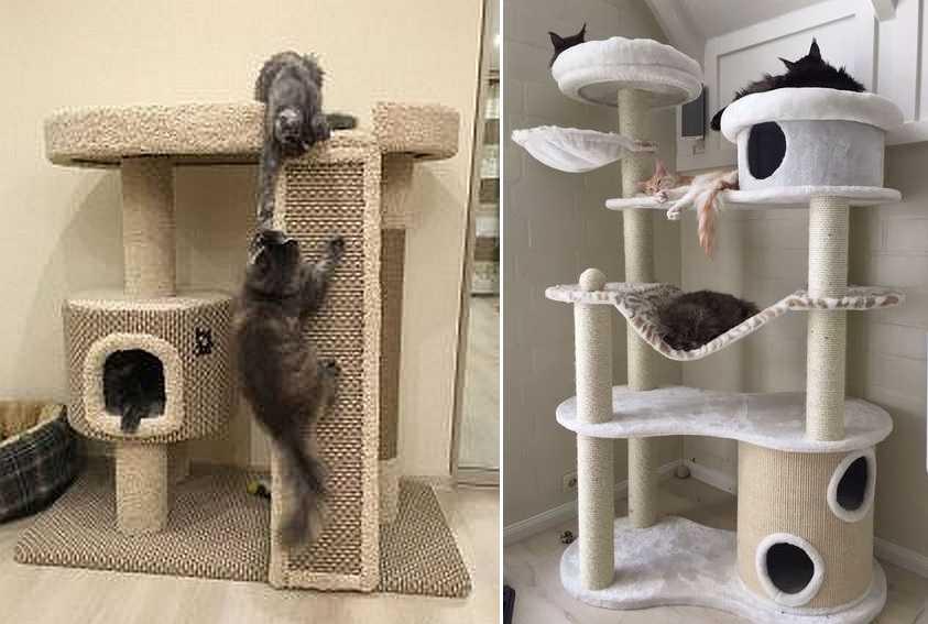 Игровой комплекс для кошек своими руками пошаговая инструкция 19