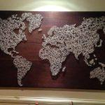 Можно сделать даже карту мира